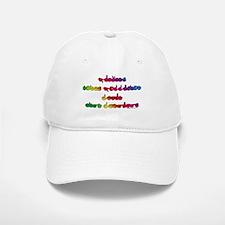 Rainbow PREVENT NOISE POLLUTION Baseball Baseball Cap