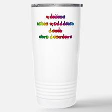 Rainbow PREVENT NOISE POLLUTION Travel Mug