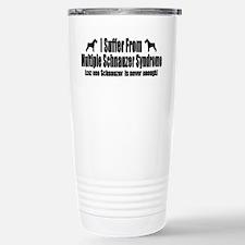 Schnauzer Thermos Mug
