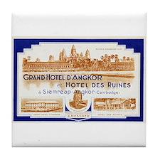 Grand Hotel d'Angkor Tile Coaster