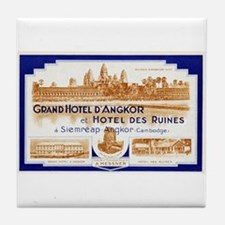 Grand Hotel d'Angkor Tile Coaster
