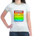 #6 God has no grandkids Jr. Ringer T-Shirt