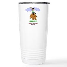 Bearin' it all! Travel Mug