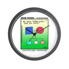 #7 One of each Wall Clock