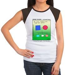 #7 One of each Women's Cap Sleeve T-Shirt