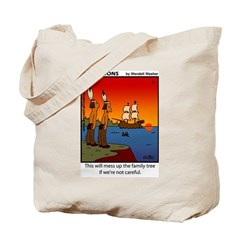 #8 Mess up family tree Tote Bag