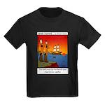 #8 Mess up family tree Kids Dark T-Shirt
