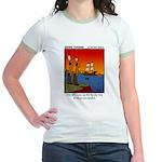 #8 Mess up family tree Jr. Ringer T-Shirt