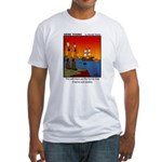 #8 Mess up family tree Fitted T-Shirt