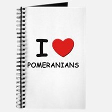 I love POMERANIANS Journal