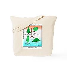 #10 Tree's family man Tote Bag