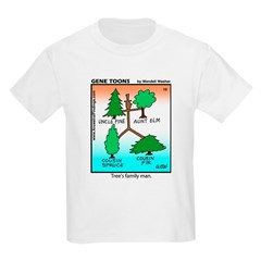 #10 Tree's family man Kids Light T-Shirt