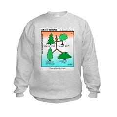#10 Tree's family man Sweatshirt