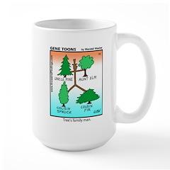 #10 Tree's family man Mug