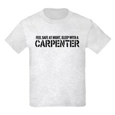 Feel Safe With A Carpenter T-Shirt