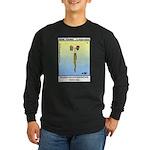 #12 Bearded son Long Sleeve Dark T-Shirt