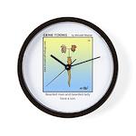 #12 Bearded son Wall Clock
