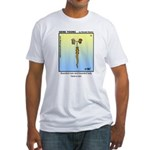 #12 Bearded son Fitted T-Shirt