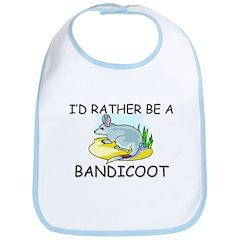 I'd Rather Be A Bandicoot Bib