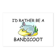 I'd Rather Be A Bandicoot Postcards (Package of 8)