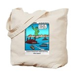 #14 Ellis Island Tote Bag