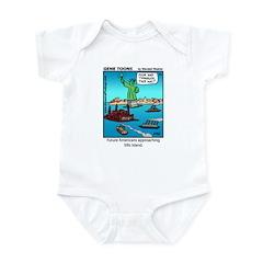 #14 Ellis Island Infant Bodysuit
