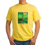 #14 Ellis Island Yellow T-Shirt