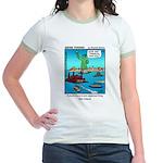 #14 Ellis Island Jr. Ringer T-Shirt