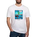 #14 Ellis Island Fitted T-Shirt