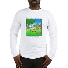 #15 Hid my ancestors Long Sleeve T-Shirt