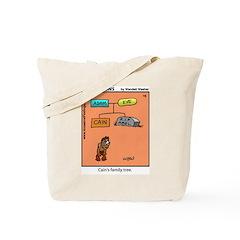 #16 Cain's family tree Tote Bag