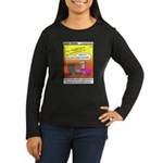 #20 Some subject lines Women's Long Sleeve Dark T-