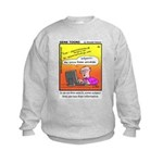 #20 Some subject lines Kids Sweatshirt