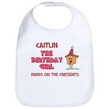Happy Birthday Caitlin Bib