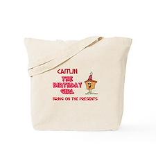 Happy Birthday Caitlin Tote Bag