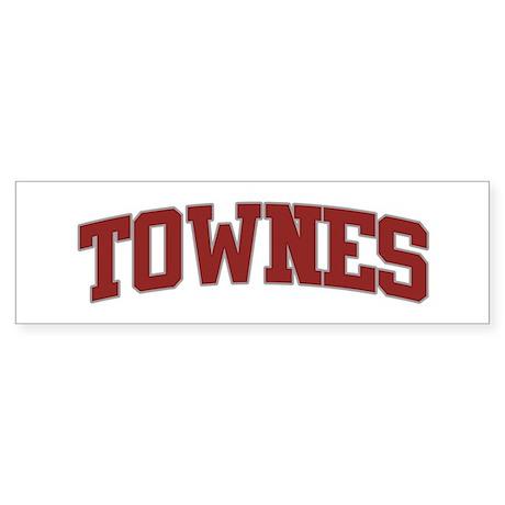 TOWNES Design Bumper Sticker