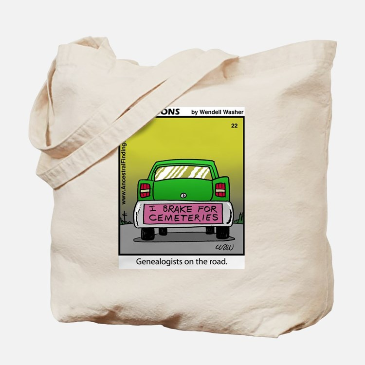 #22 On the road Tote Bag