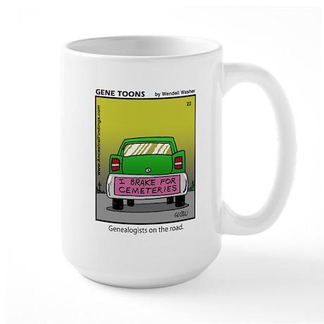 #22 On the road Large Mug
