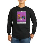#24 Time machine Long Sleeve Dark T-Shirt