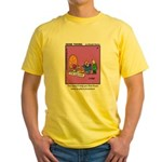 #24 Time machine Yellow T-Shirt