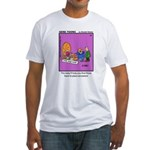 #24 Time machine Fitted T-Shirt