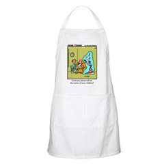 #25 Time traveller BBQ Apron