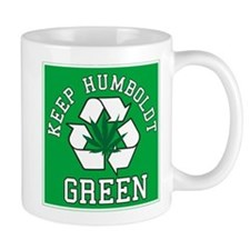 Keep Humboldt Green Mug