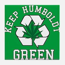 Keep Humboldt Green Tile Coaster