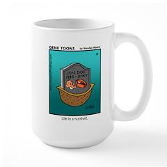 #28 In a nutshell Large Mug