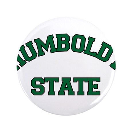 """Humboldt State 3.5"""" Button"""