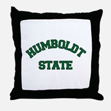 Humboldt State Throw Pillow
