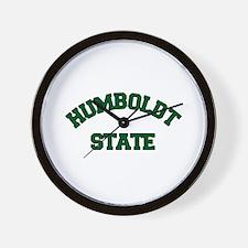 Humboldt State Wall Clock