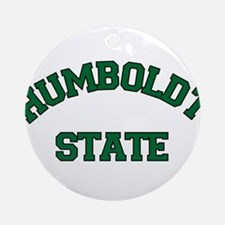 Humboldt State Ornament (Round)