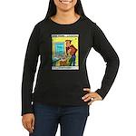 #30 Typo Women's Long Sleeve Dark T-Shirt